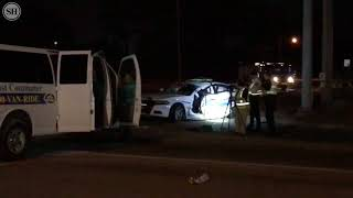Crash injurs Gulfport Police officer