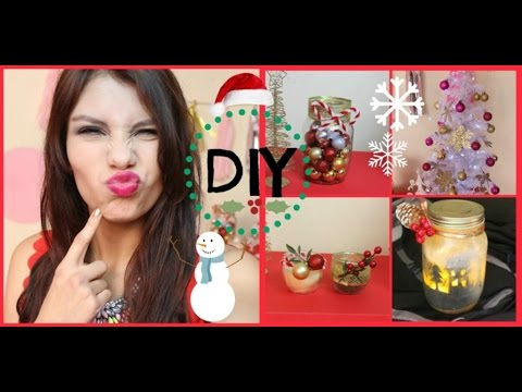 Diy adornos de navidad super faciles youtube for Adornos de navidad faciles