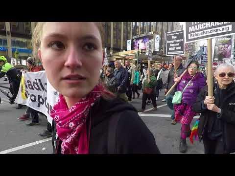 Inside NYC Antifa Communist March - Part 1