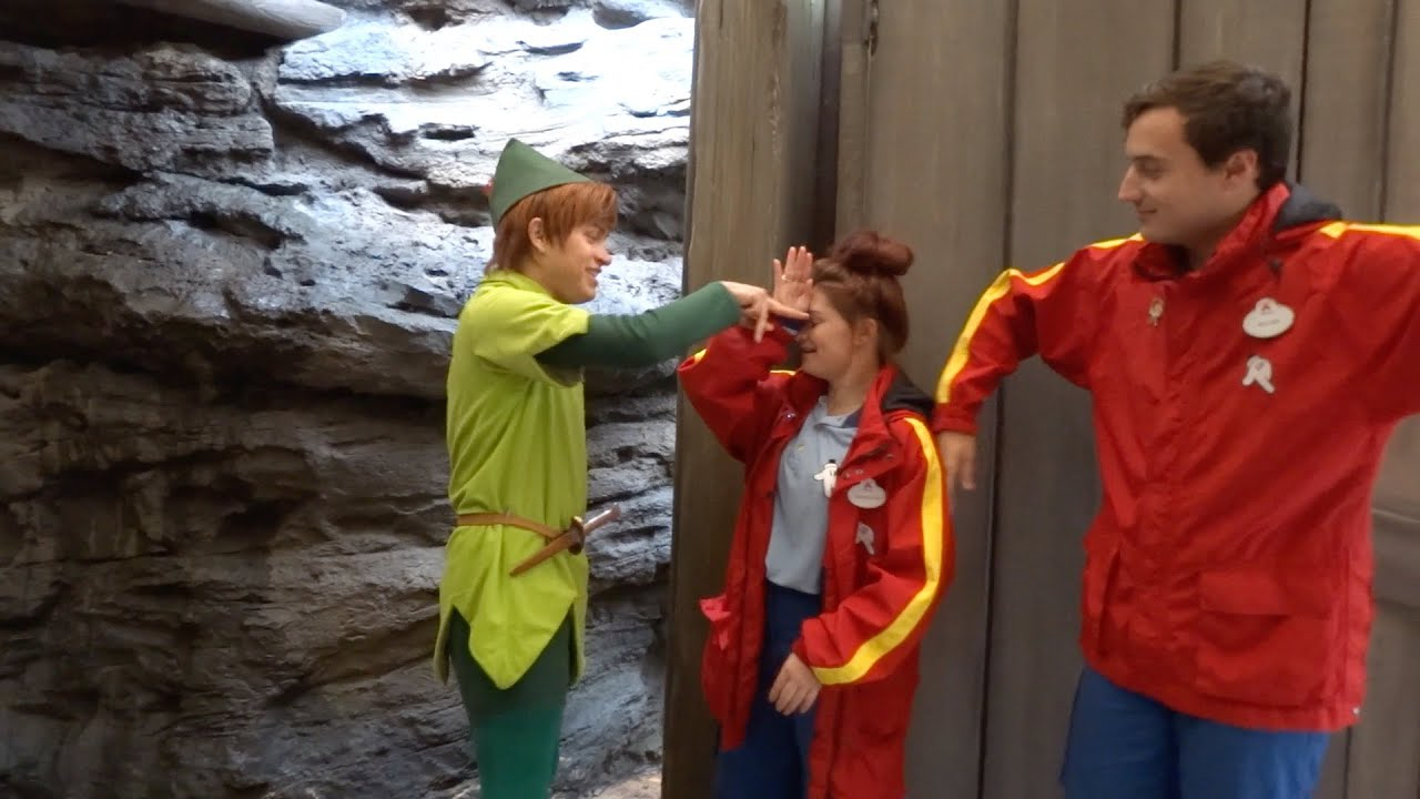 disneyland peter pan meet and greet