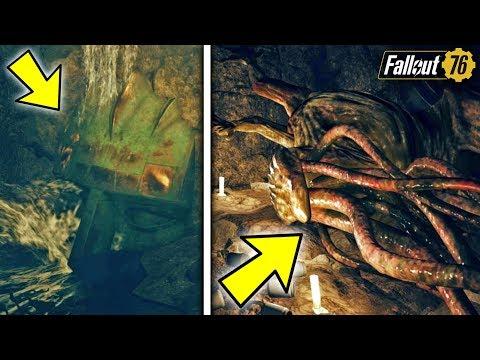 Fallout 76 | SECRET TENTACLE MONSTER FOUND! Hidden Location, Secret Loot, & Lore thumbnail
