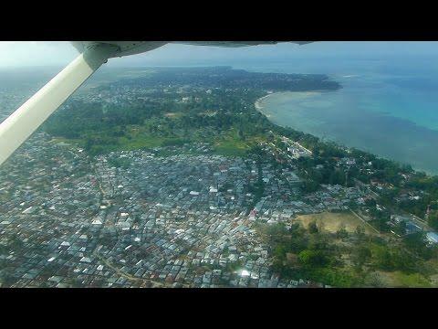 Flight from Dar es Salaam to Pemba via Zanzibar, Tanzania