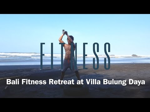 Bali health fitness retreat at villa Bulung Daya with RealBali.com