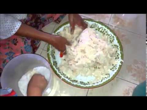 วิธีการทำหน่อไม้ส้ม (วิธีการทำหน่อไม้ดอง) How to make pickled asparagus