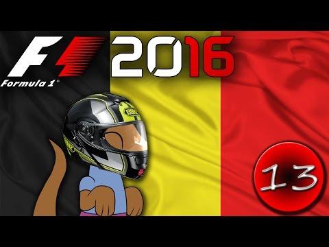 OBROVSKÁ HAVÁRIE - F1 2016 Kariéra - CZ Let's Play - závod 13. - VC Belgie