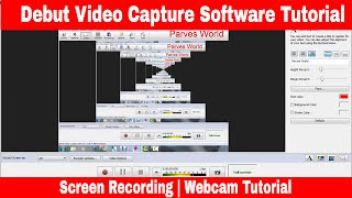 Download Video Debut Video Capture Software Tutorial | Screen | Webcam | Device Capture and Recording MP3 3GP MP4
