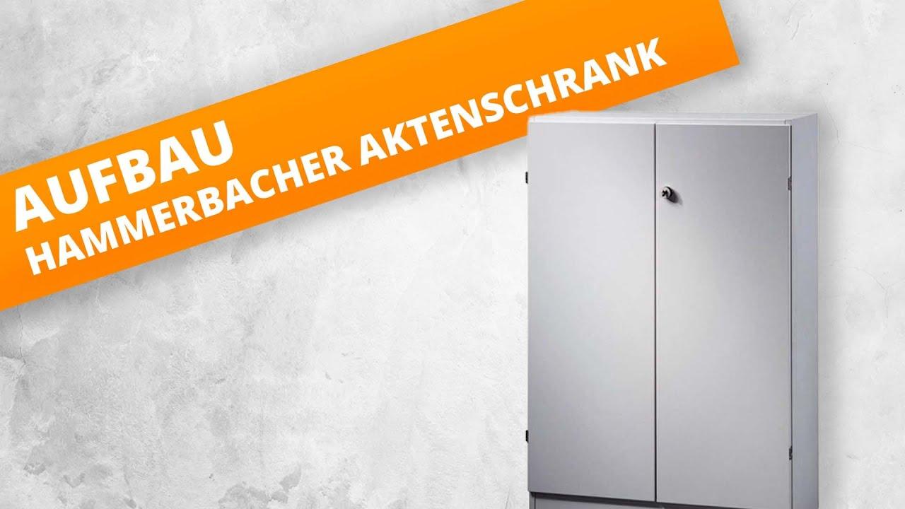 Montage- & Aufbauanleitung | Hammerbacher Aktenschränke Solid ...