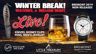 """Steve LIVE from """"Whiskey, Watches, and William Henry."""""""