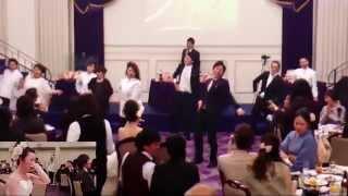 """新郎と友人によるフラッシュモブ サプライズに新婦が涙 in 熊本 """"Flash Mob Surprise Wedding"""""""