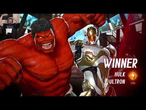 Marvel vs. Capcom Launch MP pt27 - vs. Ryu/Morrigan (runaway city) - 동영상