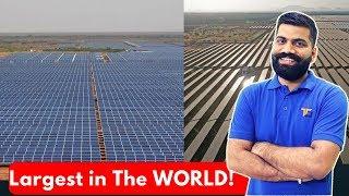 World's Largest Solar Park in India - Shakti Sthala - 2000MW of Solar Power!!
