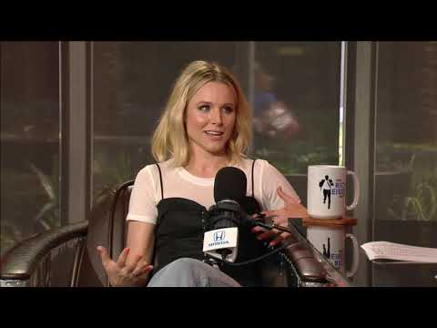Actress Kristen Bell Talks Detroit Red Wings - 3/14/17