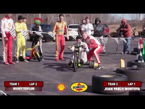Penske Games - Big Wheel Race