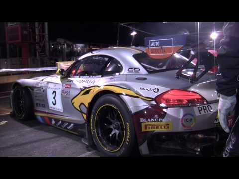 The Marc VDS Racing Team at the 24 Hours of Spa