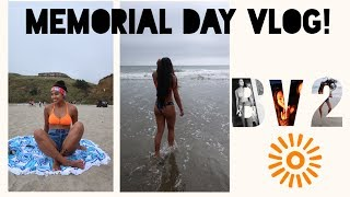 Vlog #2   Got a guy's number! Beach, S'mores, Haul...   Baelani Vlogz