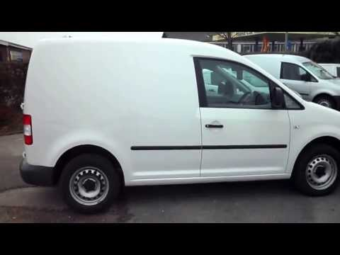 10REG Volkswagen Caddy Van TDIPS 1 Owner from New only23599 Miles from new £8745 + vat