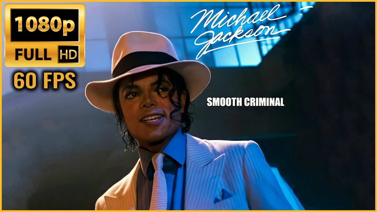 Download Smooth Criminal   Michael Jackson   Remastered Full HD - 1080p 60fps