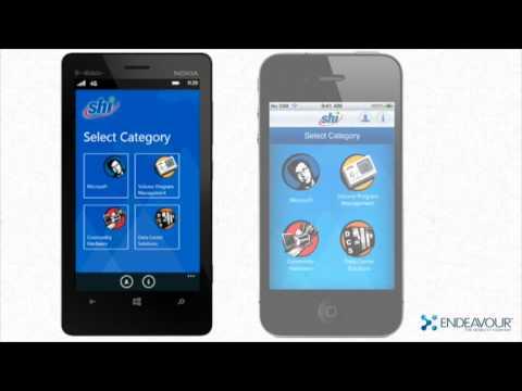SHI Employee Training Mobile Solution