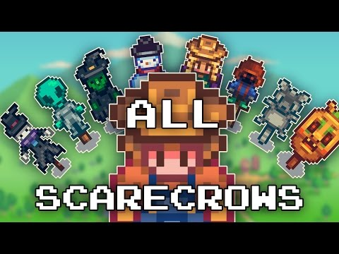 Rarecrows; How to obtain all  - Stardew Valley |