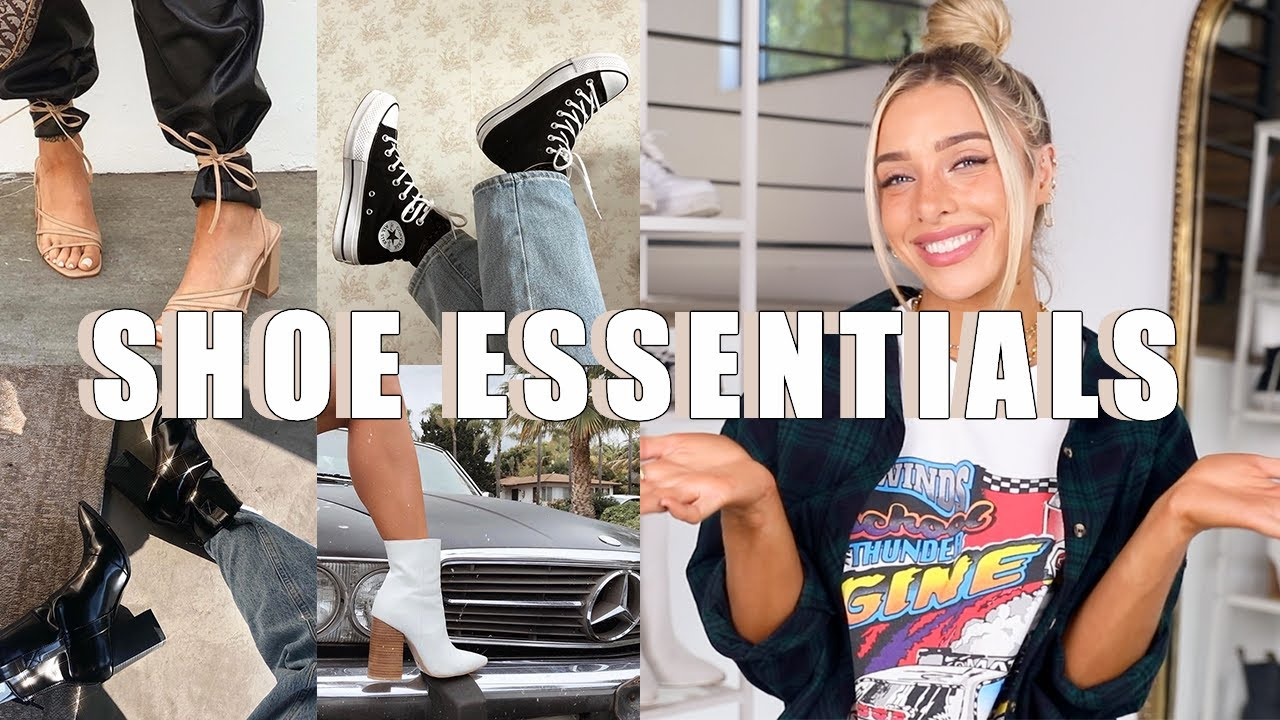 WARDROBE ESSENTIALS: SHOES | SNEAKERS, HEELS, BOOTS