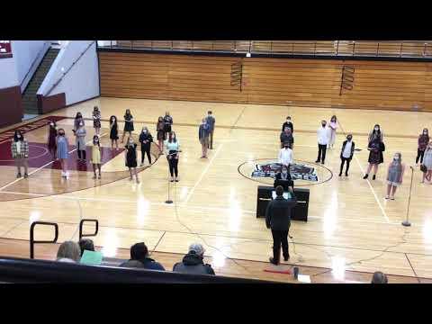 Yellow Medicine East Middle School Choir - A Million Dreams