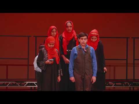 Nashed Club of the Islamic Foundation School, World Interfaith Harmony, Chicago, 2018