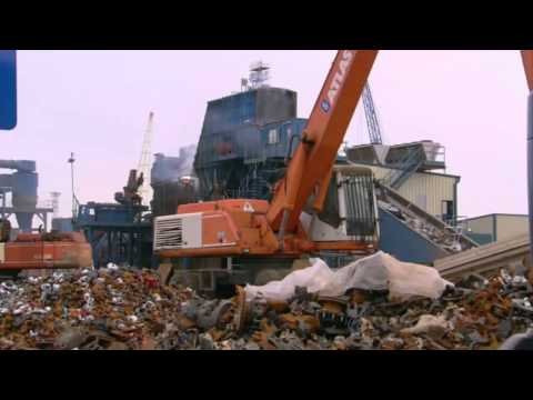 World''s Biggest Shredder Documentary High Quality   National Geographic Megastructures Documentary