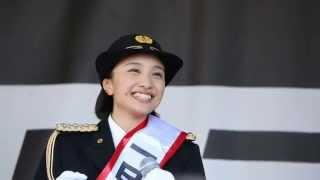 百田夏菜子 小平警察署一日署長笑顔集