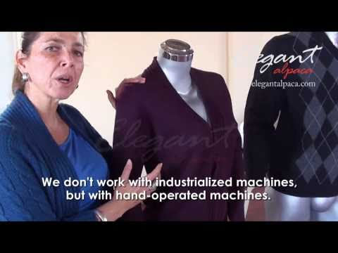 Elegant Alpaca-Manufacturing process-Clothing-Wholesales