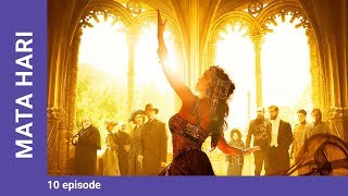 mATA HARI. Episode 10. Russian TV Series. StarMedia. Drama. English dubbing