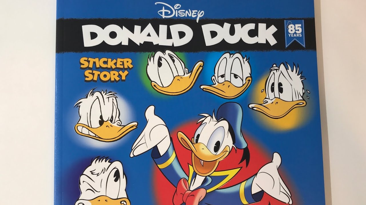 PANINI DISNEY 85 ans Donald Duck-Sticker 57