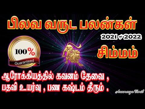Pilava Varuda Palangal In Tamil Simmam   Tamil Puthandu Rasi Palan 2021   Tamil New Year Rasi Palan