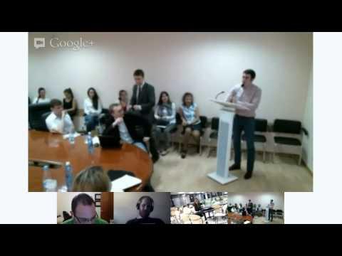 Student Conference at SibFU-2013 (session starts at 00:32:00)