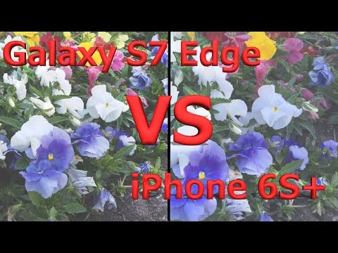 Galaxy S7 Edge vs iPhone 6s Plus - Video Camera Test!
