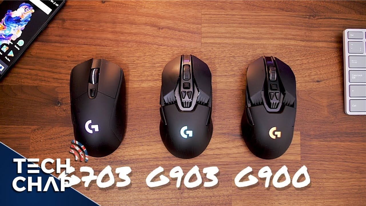 Logitech G903 vs G900 vs G703 - Best Wireless Gaming Mouse | The Tech Chap