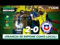Resumen Y Goles | Francia 2 - 0 Chile | Mundial Brasil Sub 17 - J 1 | TUDN