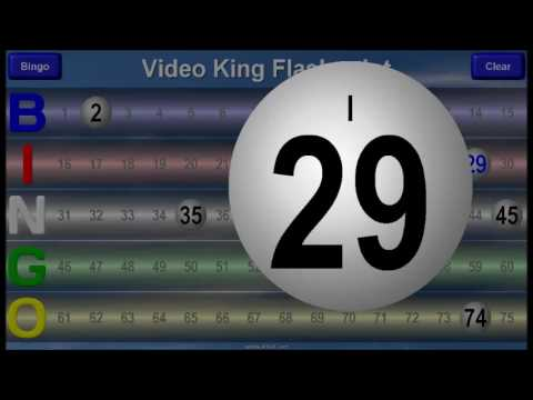 Video King: FlashPoint™ Bingo Demo
