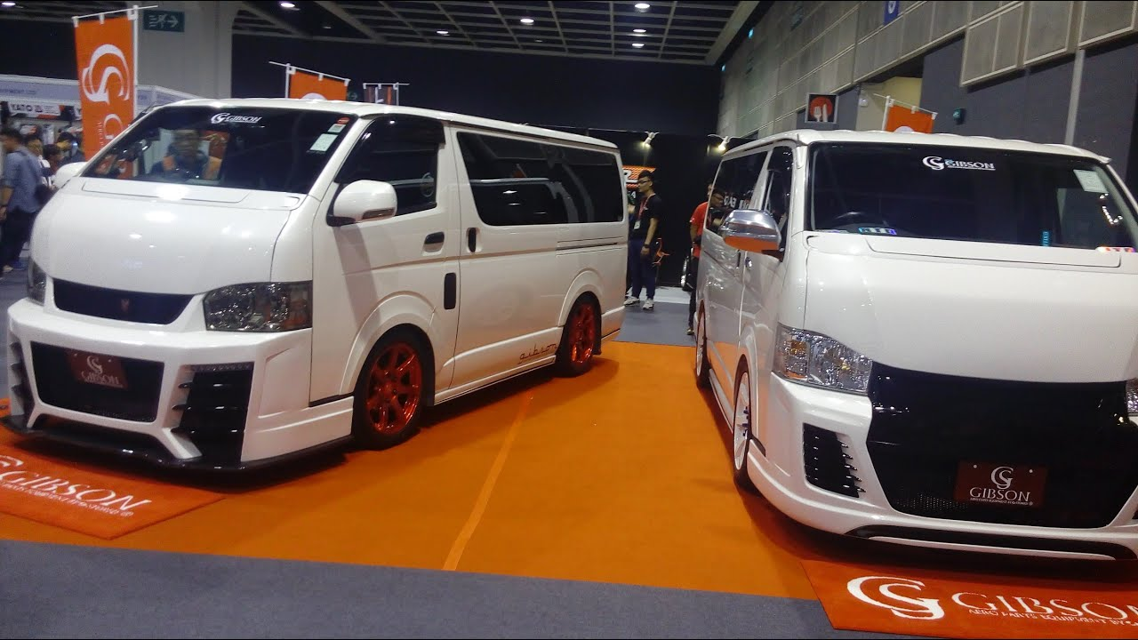gibson grafam toyota hiace 200 youtube. Black Bedroom Furniture Sets. Home Design Ideas