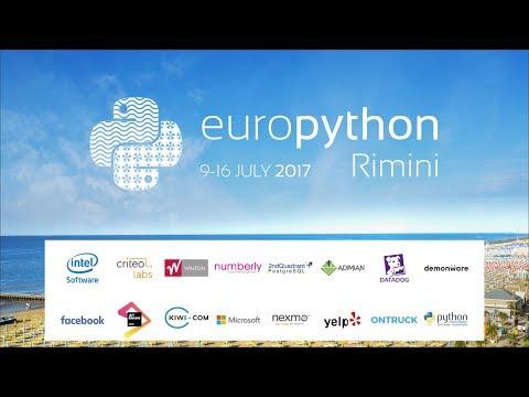 Image from Monday, 10 July - Python PyCharm Room EuroPython 2017