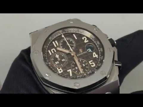【濃情巧克力】愛彼 Royal Oak Offshore Havana 皇家橡樹離岸型計時碼錶