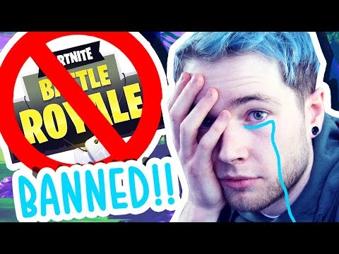 MY WIFE BANNED ME FROM FORTNITE: BATTLE ROYALE.!!
