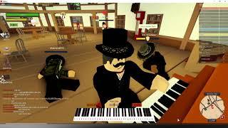 Jouer Wii Sports au piano (Roblox)