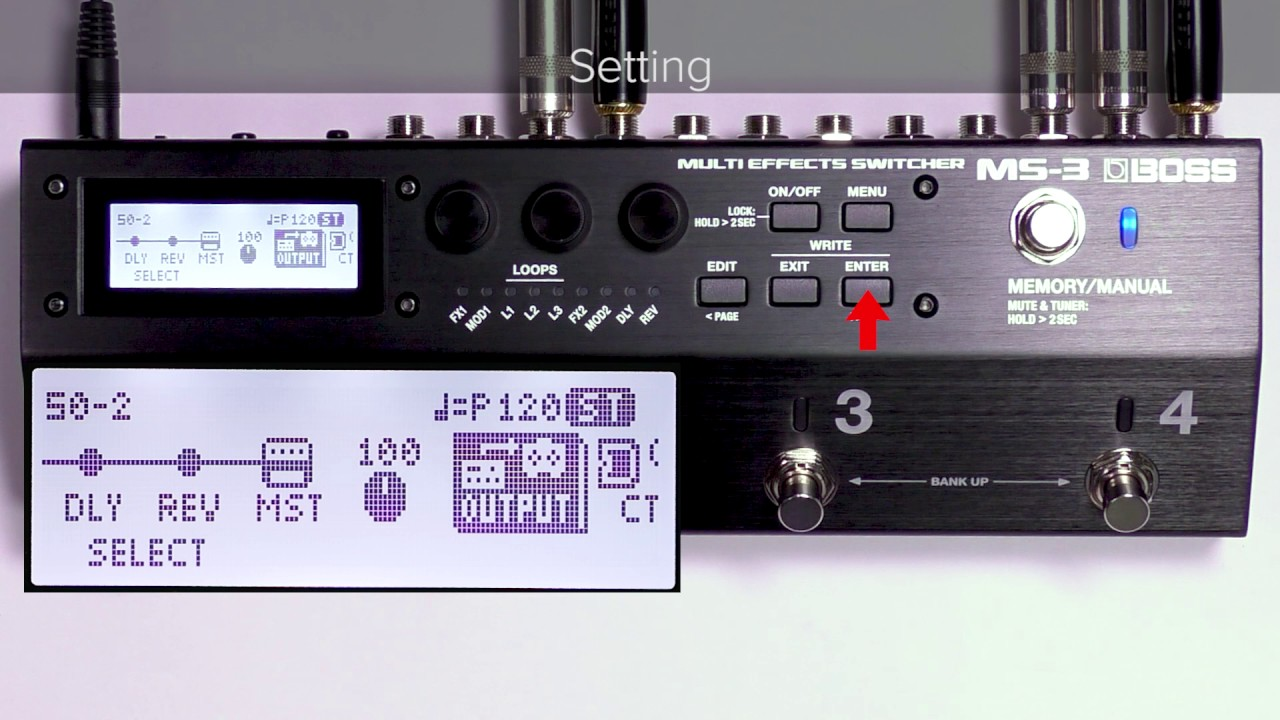 Ms 3 Quick Start Chapter5 Switching The Amp Channel Youtube Dual Pre And A B Box Guitar Effect Schematic Diagram