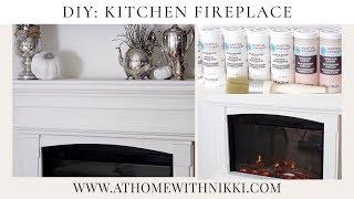 Diy: Martha Stewart Crafts: | Kitchen Fireplace