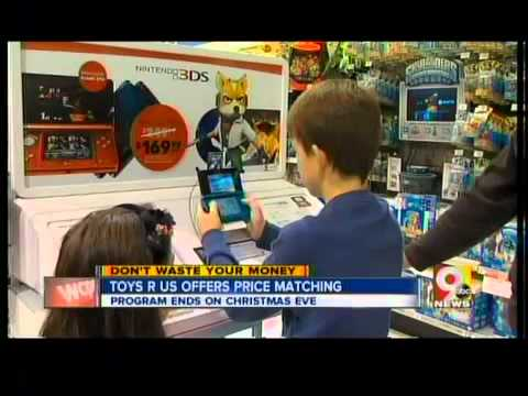 Toys R Us offering price matching