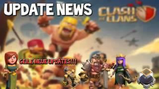 Clash of Clans | UPDATE NEWS FEBRUAR 2015 • HEXE LVL3 und co.