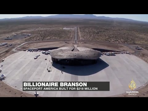 Richard Branson: Spaceport America is alive