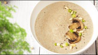 Крем-суп из шампиньонов // Ачешуительно вкусный рецепт!