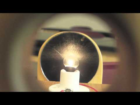 Concave Mirror  Real Image Demonstration /// Homemade Science With Bruce Yeany