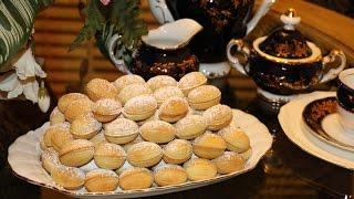Орешки со сгущёнкой рецепт# Вкусные орешки # Печенье орешки